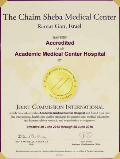Joint Commission International-Accreditation